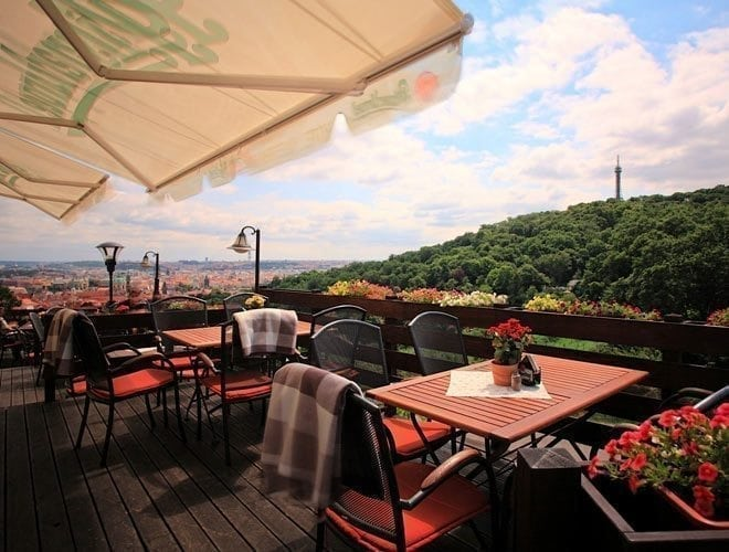 romantic restaurants in Prague