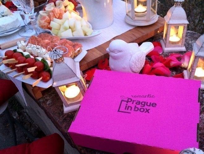 romantic prague in box
