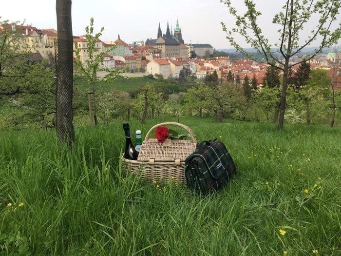 picnic in Prague